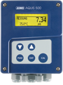 JUMO AQUIS 500 pH - Transmitter/Controller for pH value, Redox Voltage, NH3 (ammonia) Concentration and Temperature (202560)